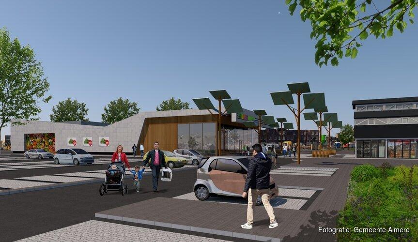Nieuwe supermarkt in Homeruskwartier Almere Poort wordt PLUS
