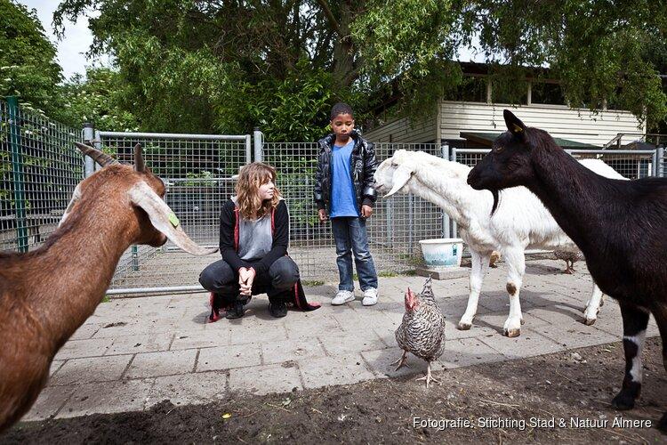 Lentefeesten op Kinderboerderij de Beestenbende