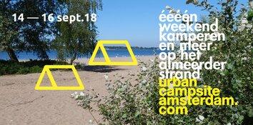 UrbanCampsite strijkt neer op Almeerderstrand