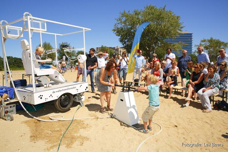 Zinderend StrandSafari drukbezocht; Actie en cultuur op het Almeerderstrand