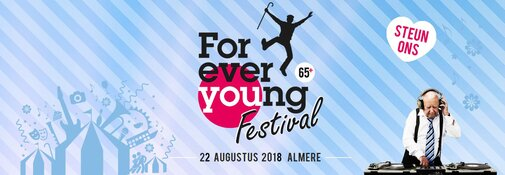 Forever Young festival op woensdag 22 augustus