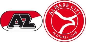 Jong AZ - Almere City reeds na half uur beslist (2-3)