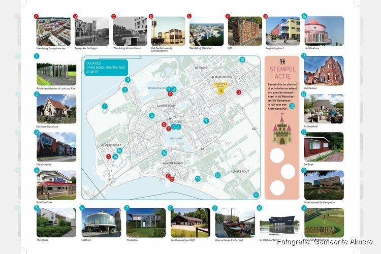 Wethouder Van Garderen opent Open Monumentendag Almere 2018