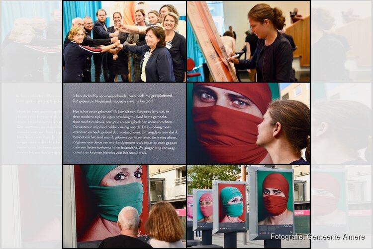 Ketenaanpak tegen mensenhandel van start; fototentoonstelling 'Open je Ogen' op Grote Markt