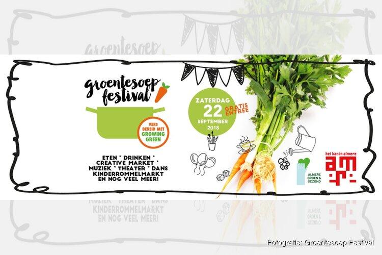 Komende zaterdag: Groentesoep Festival