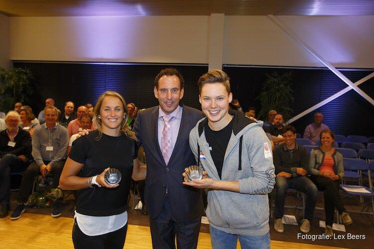 Almeerse sportpenning uitgereikt aan Lilian de Geus en Bo Kramer