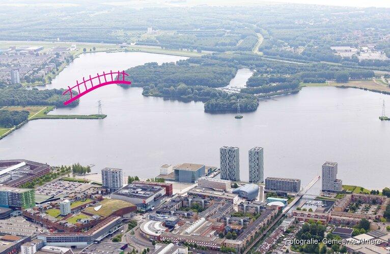 Almeerders kunnen kiezen uit twee ontwerpen voor brug Weerwater