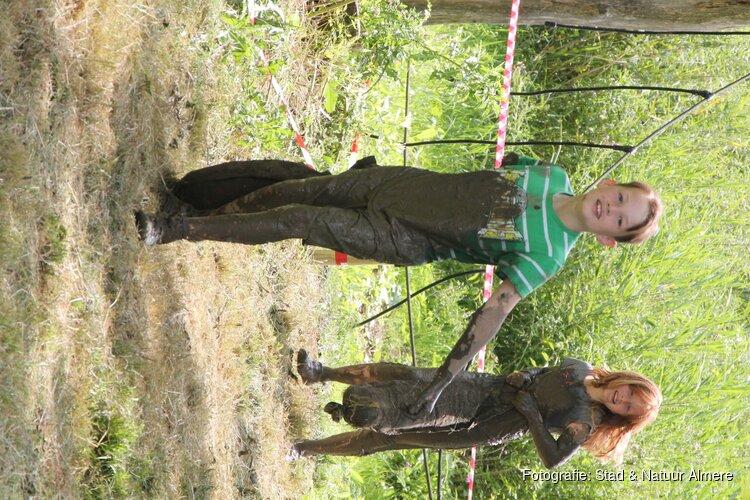 Schoolklassen, G-sporters en gezinnen gaan de modder in bij de Kemphaan