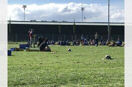 Sportmiddagen voor leerlingen Oostvaarderscollege bij RC Bulldogs