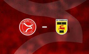 Almere City FC op voor eerherstel tegen sc Cambuur