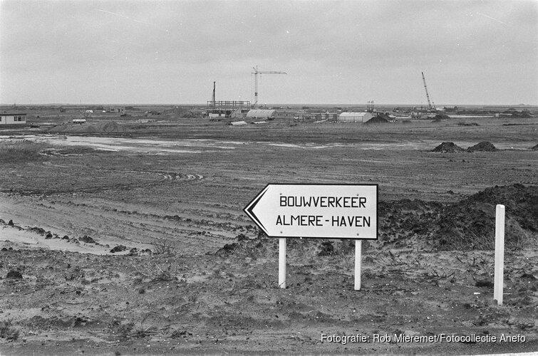 Het Bovengronds Erfgoed van Almere geëxposeerd