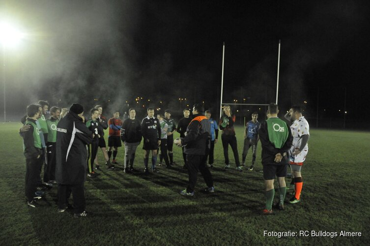 Hoog bezoek Rugby Almere!