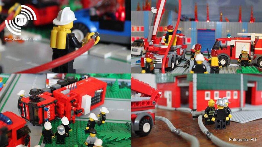 Brandweer LEGO Expo 2018 in Almere