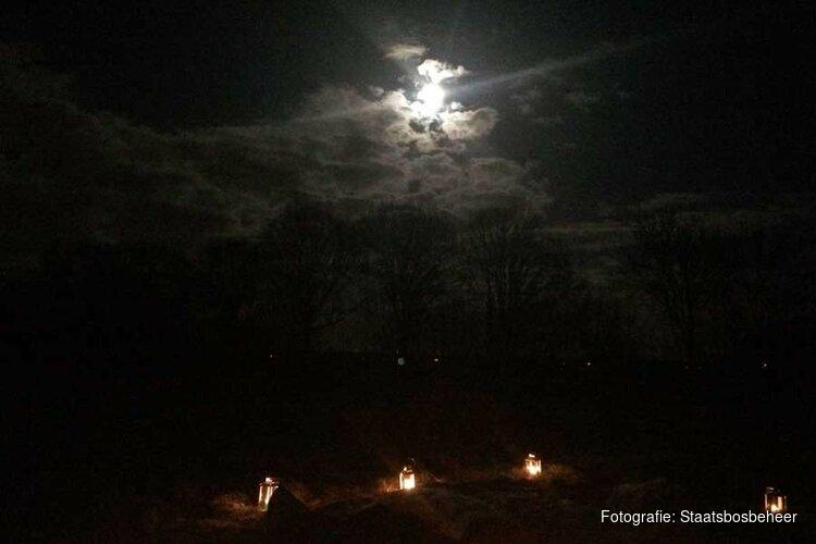 Lichtjeswandeling 21 december 2018 Oostvaardersplassen