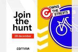 Fietsmerk Cortina past fietsbord aan naar Almeers straatbeeld
