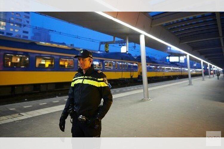 Vernielingen treinstation Almere Oostvaardersplein
