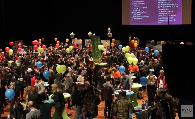 Almere On Stage brengt leerlingen en het bedrijfsleven samen