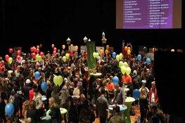 Trotse leerlingen op Beroepenfeest Almere On Stage
