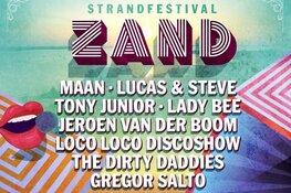 Maan, Lucas & Steve en The Dirty Daddies op vernieuwd strandfestival Zand