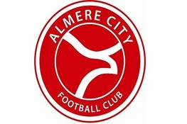 Jong Almere City FC hardleers in Hardenberg